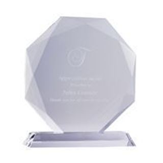 Crystal Clarity Octagon Award