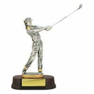 Figure On Bases Silver- Female