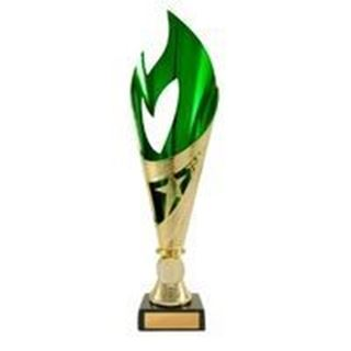 Flamenco Cup Series Gold and Green