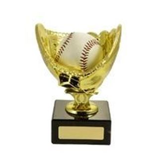 Baseball Figures On Bases – Gold Glove