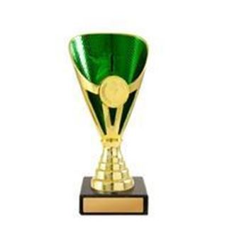 Picture of Arianna Cup Series Gold and Green (D19-0323) (222mm)