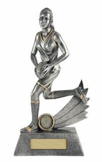 Picture of All Action Hero Trophy - Female (742S-3FD) (270mm)